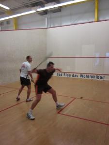 Frank Erbe (re.) gegen Olli Hermann (Waiblingen) 2012