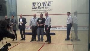 Sven Janke erhielt den Sonderpokal als bester BW-Akteur beim Regio Cup!
