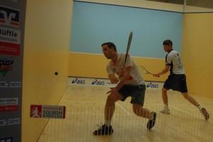 Tobias Baab (li.) bestritt seine ersten Wettkampfspiele nach Verletzung
