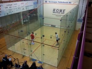 Rodekurth (li.) spielte in der ersten Runde gegen Jens Schoor