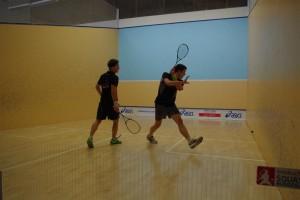 Carsten Schoor (li.) und Raphael Kandra boten ein hochklassiges Finale