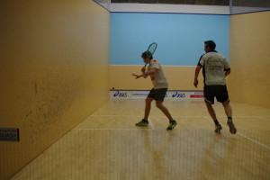 Miescher (li.) gewann in einem guten Spiel gegen J.Voit