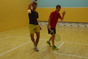 Daniel Echavarria (li.) und Ben Petzoldt