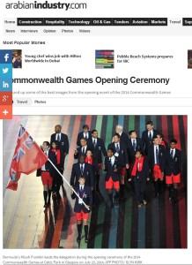 Franklin schwenkte die Fahne Bermudas