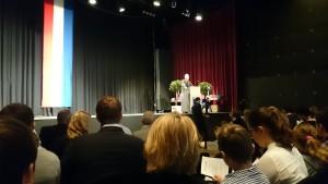 Ansprache des OB Harry Mergel