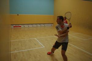 Tobias Baab hatte es gleich in der ersten Runde mit dem Topgesetzten Raphael Kandra zu tun und schied aus