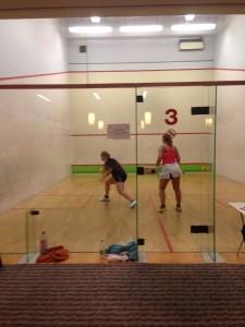 Nina Fichler beim Spiel um Platz 3 gegen Uta Karen Mempel