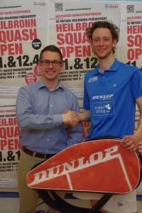 Patrick Gässler (re.) gewann das Herren-D-Feld