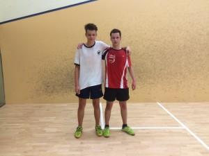 Markus (li.) und Florian Mazura bestritten im letzten Jahr im Finale ein Familienduell