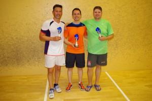 Die Sieger 2015: v.l.n.r. Frank Erbe, Stefan Rodekurth und Sven Janke