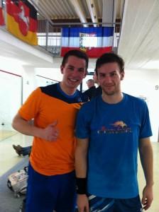 Stefan Rodekurth mit Tim Gräßer (Bild: SI Stuttgart)