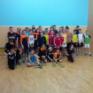 Die Teilnehmer/innen des Turniers vor dem Start - Bild: Devils Stuttgart