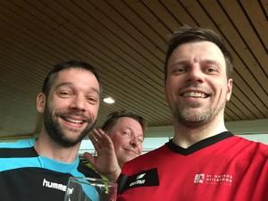 Alexander Ehrlich (links) und Eike Gehlhaar (rechts) konnten heute keine Punkte mitnehmen