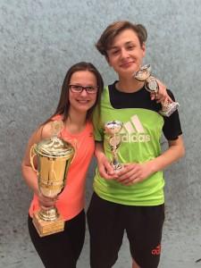 Nina und Erik Kästner waren überglücklich mit ihren Platzierungen