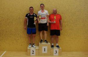 die Turniersieger: Stefan Rodekurth, Frank Erbe und Andreas Baumeister