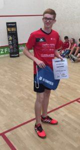 """Luis Deißler gewann die Wertung """"bester Newcomer"""" des Dunlop Junior Cups!"""