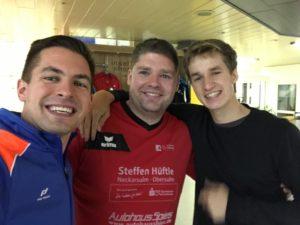 Stefan Rodekurth, Sven Janke und Patrick Miescher